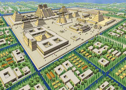 Mrmoyer geography aztec for Cd jardin nezahualcoyotl